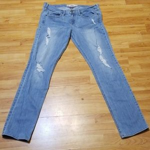 Women sz 9 29x33 Hollister skinny socal jeans